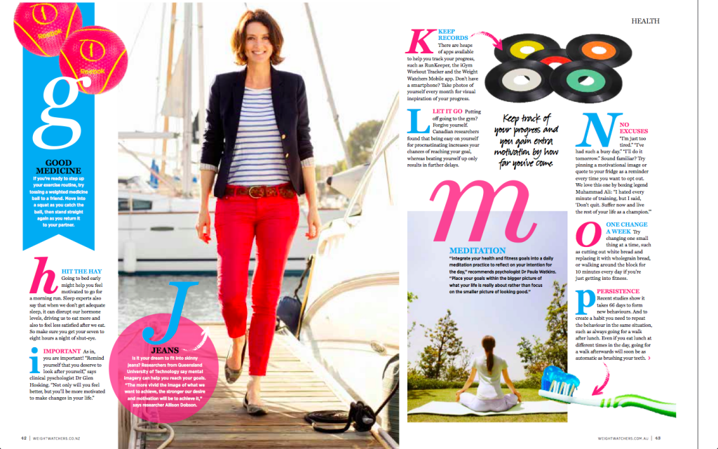 Weight Watchers Magazine April 2013