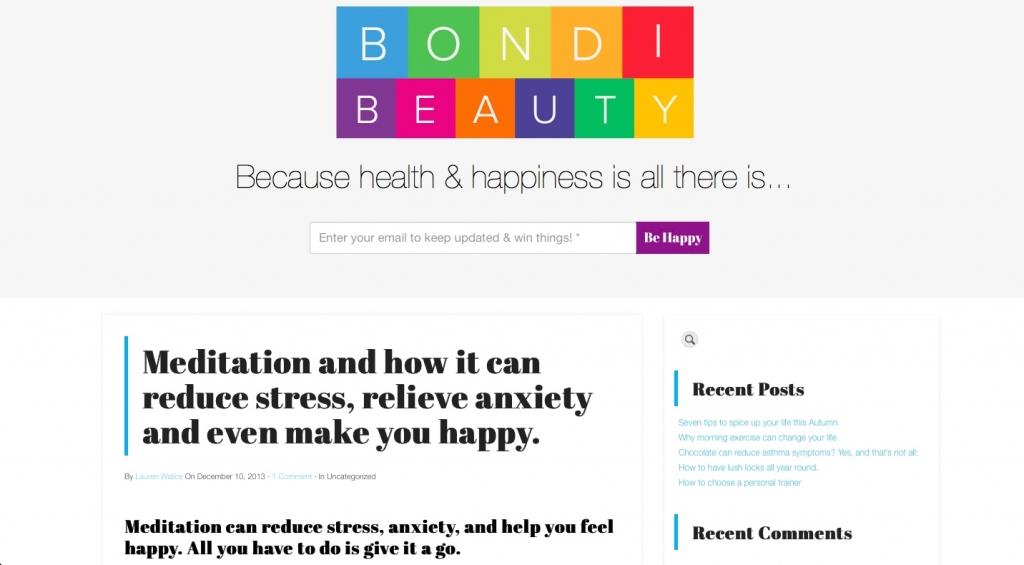 Bondi Beauty Interview